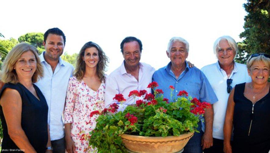 Marion Paux-Rosset en haar familie